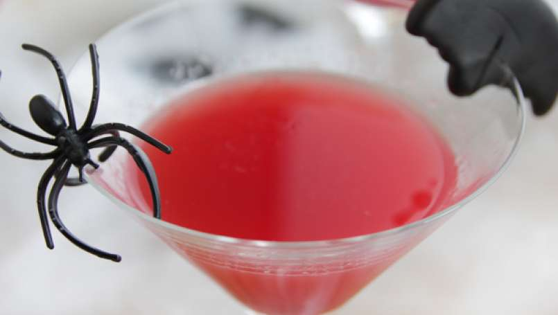 Ricetta per Halloween - Cocktail insanguinato (analcolico)